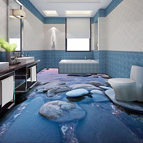 treet Wasser 3D Schlafzimmer Balkon selbstklebend Boden Dekoration Tapete Restaurant Korridor Wandbild (Camo Dekorationen)