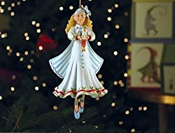 Patience Brewster Clara Ornament - Krinkles Christmas D?or New 08-30801 By Patience Brewster