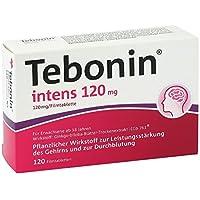 Tebonin intens 120 mg Filmtabletten 120 stk preisvergleich bei billige-tabletten.eu