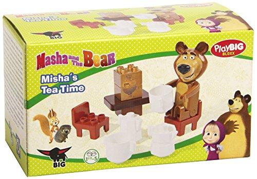 Preisvergleich Produktbild BIG 57090 PlayBIG Bloxx Mascha und der Bär Starter Set