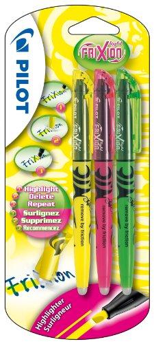 pilot-frixion-light-erasable-highlighter-yellow-pink-green-pack-of-3