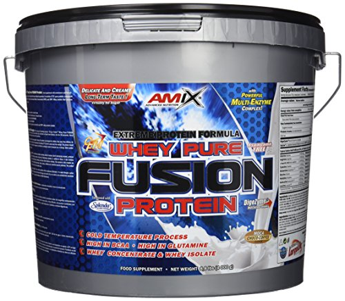 Amix Whey Pure Fusion Proteínas - 4000 gr_8594159538870