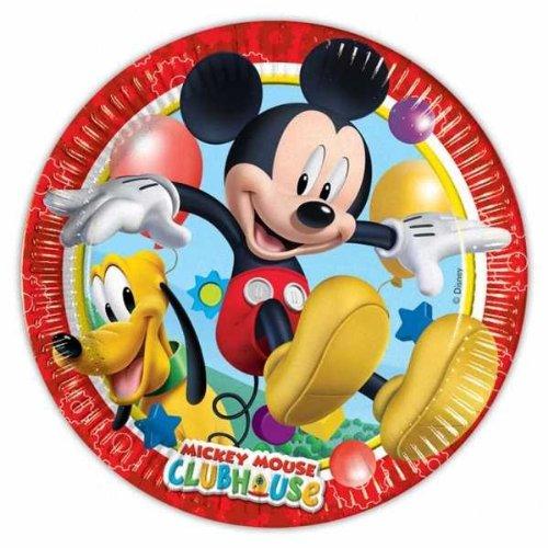 NEU Teller Playful Mickey, 23 cm, 8 (Mickey Und Kostüme Pluto)