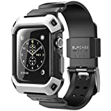 Apple Watch Case, SUPCASE [Unicorn Beetle Pro] Rugged Protective Case with Strap Bands for Apple Watch / Watch Sport / Watch Edition 2015 [42mm Not Co