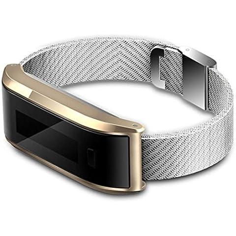 Deportiva Pulsera, ihee TW07Bluetooth 4.0ip-x6impermeable reloj de pulsera pulsera podómetro contador de calorías deporte rastreador de actividad, color