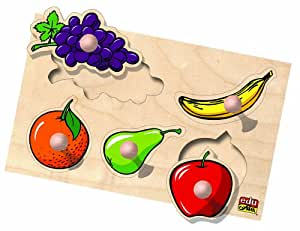 Edufun - Ef 10105 - Jouet en Bois - Les Fruits