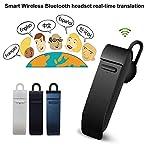 Traduzione Smart in tempo reale wireless con auricolari e Bluetooth. Parametri: Nome del prodotto: Auricolari Smart Bluetooth. Durata della batteria durante l'utilizzo: 4-5 ore. Capacità della batteria: 90 mAh. Durata della batteria in standby: 120 o...