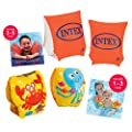 Intex Armbands Childrens Baby Kids Safety Swimming Swim Floating Support Age 1-6