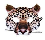 Rappa Tolle, lebensechte Tiermaske Maske Gepard aus Stoff