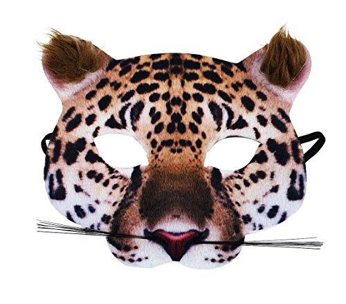 chte Tiermaske Maske Gepard aus Stoff ()