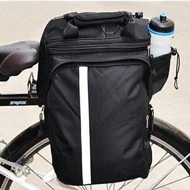 ZQ Westen Radfahren wasserdicht regen Abdeckung 25l schwarzen Stamm-Taschen Black