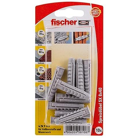 Fischer Dübel SX, 8 x 40 KP K SB-Karte, 58108