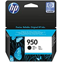 HP 950 - Cartucho de tinta Original HP 950 Negro para HP OfficeJet Pro 251dw, 276dw, 8100, 8600, 8600 Plus, 8610, 8615, 8620