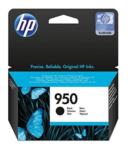 HP 950 - Cartucho de tinta Original HP 950 Negro para HP OfficeJet Pro 251dw, 276dw, 8100, 8600, 8600 Plus, 8610, 8615, 8620