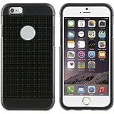Muvit Pro mubkc0859Coque Shockproof 2º génération pour Apple iPhone 6/6S, couleur NOIRE
