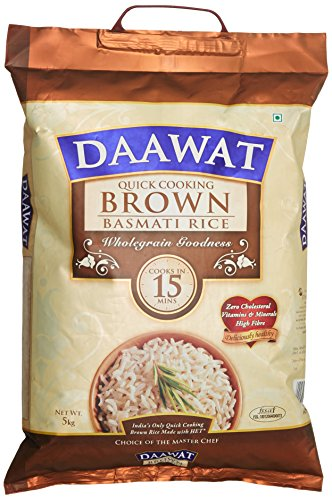 Daawat Brown Basmati Rice, 5kg