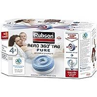 Rubson Aero 360 PURE - Lote de recargas para absorbedor de humedad (4 unidades)