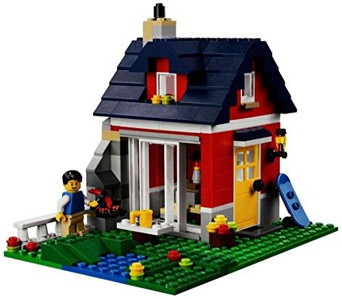 lego creator 31009 jeu de construction la petite maison 123vacances. Black Bedroom Furniture Sets. Home Design Ideas