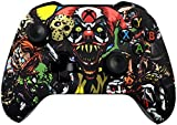 Xbox One S Wireless Controller - Soft Touch Design - Added Grip for Long Gaming Sessions - Multiple Colors Available (Scary Party)