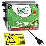 Weidezaungerät Eider Cowboy N8000 l Optimal für Pferde l Made in Germany - Unser Bestseller zum Spitzenpreis
