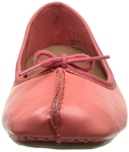 Clarks Freckle Ice, Ballerine Donna Rosa (Coral Leather)