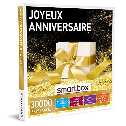 SMARTBOX - Coffret Cadeau d'anniversaire - Idée cadeau original pour homme ou femme...