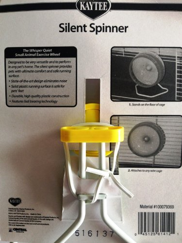 Interpet 861414 Superpet Silent Spinner flüsterleises Laufrad, groß, 16.5 cm -