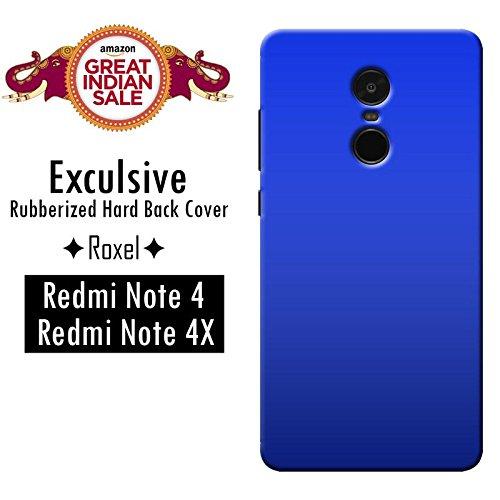 Redmi Note 4 (Gold, 64 GB)/Redmi Note 4 (Black, 64 GB)/Redmi Note 4 (Gold, 32 GB)/Redmi Note 4 (Dark Grey, 64 GB)/Redmi Note 4 (Lake Blue, 64 GB)/Redmi Note 4 (Black, 32 GB)/Redmi Note 4 (Gold, 32 GB) Roxel Exclusive 3D Hard Back Case Cover For Redmi Note 4 (Gold, 64 GB)/Redmi Note 4 (Black, 64 GB)/Redmi Note 4 (Gold, 32 GB)/Redmi Note 4 (Dark Grey, 64 GB)/Redmi Note 4 (Lake Blue, 64 GB)/Redmi Note 4 (Black, 32 GB)/Redmi Note 4 (Gold, 32 GB) -Blue