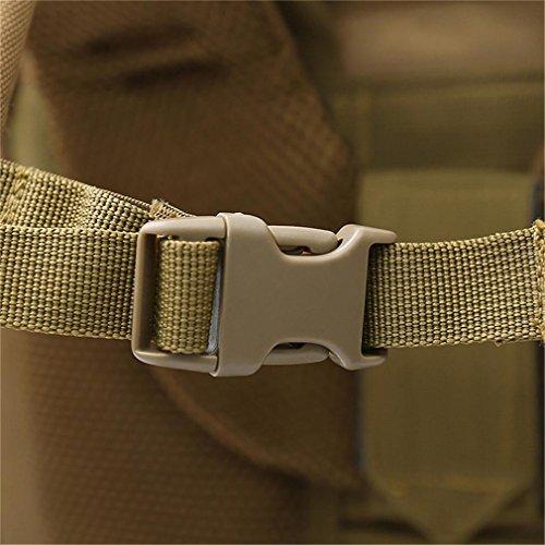 70L Großraum Bergsteigen Tasche Molle Tasche // Militär Rucksack / Rucksack Uniform / Camouflage Rucksack / Tactical Rucksack (Camouflage / schwarz / ACU / khaki) B