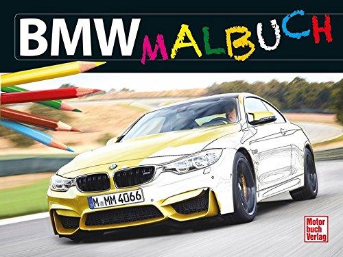 Preisvergleich Produktbild BMW-Malbuch
