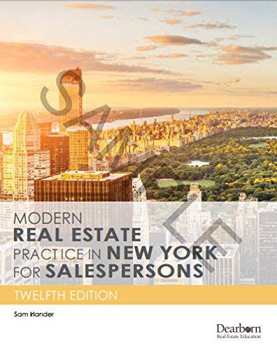 Modern Real Estate Practice Pdf