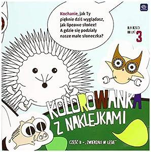 Interdruk MA21X21ZWL - Libro para Colorear (21 x 21 cm, 20 Unidades), diseño de Animales de Bosque, Multicolor