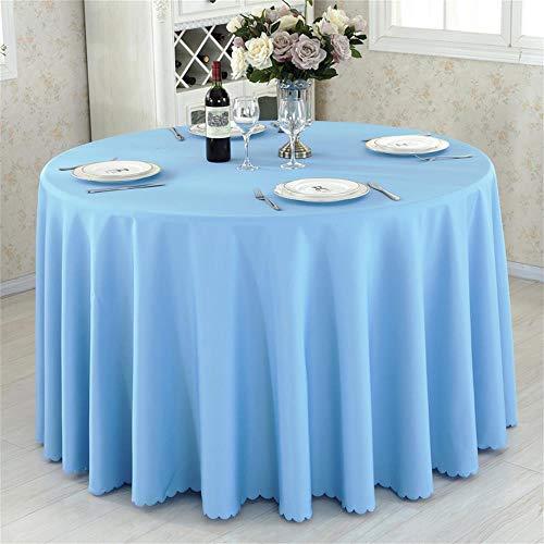 Blau Runde Hotel Round Table Cloth Restaurant Hochzeit Tischdecke Konferenztisch Abdeckung...