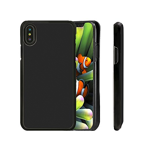 Apple iPhone X Coque, TopACE® Coque de Haute Qualité de Etui Housse pour Apple iPhone X (Or) Hard Cover-Noir