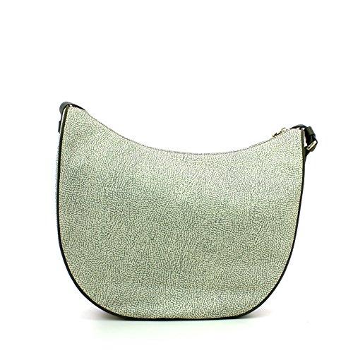 Borbonese 934777296, sac bandoulière Vert