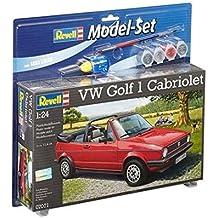 Revell - Maqueta modelo set VW Golf 1 Cabrio, escala 1:24  (67071)