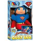 MOLTO- Gusyluz Superman Muñeco que se Ilumina, Color azul y rojo (15869)