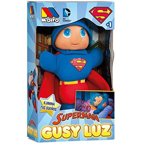 Muñeco Gusy Luz Superman