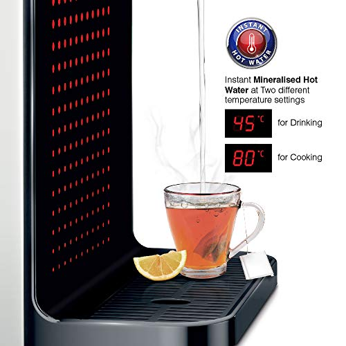 A.O.Smith Z1 HOT UV 10 Litre Wall Mountable, Table Top UV Black 10 Litre Water Purifier