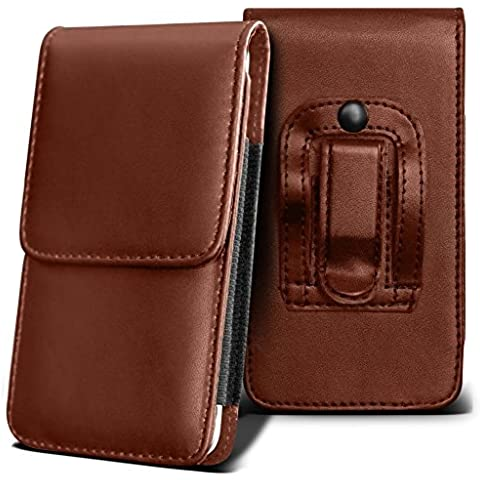SPRINT FORCE Holster Case - ( Brown ) Universal Vertical