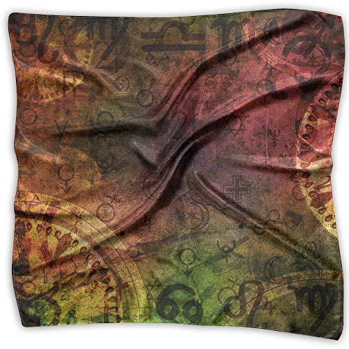 Xukmefat Womens Girl's Cassiopeia Illustration Print Extra großer quadratischer Schal Halstuch Halstuch 100CM