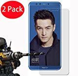 2 Pack - Huawei Honor 9 Lite Verre Trempé, FoneExpert® Vitre Protection Film de protecteur d'écran Glass Film Tempered Glass Screen Protector Pour Huawei Honor 9 Lite / Honor 9 Youth Edition
