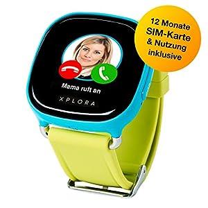 XPLORA-Telefonuhr für Kinder, inklusive 12 Monate Telefonie, Internet und XPLORA-Dienste (NUR FÜR KUNDEN IN Deutschland) …