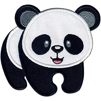 Ecusson brod/é Ecussons Imprim/és Ecussons Thermocollants iron-on Patch Jolie Panda Ours Enfant