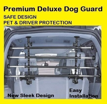 PROTON Coupe 97–01 Premium DeLuxe Hund Pet Guard Barriere