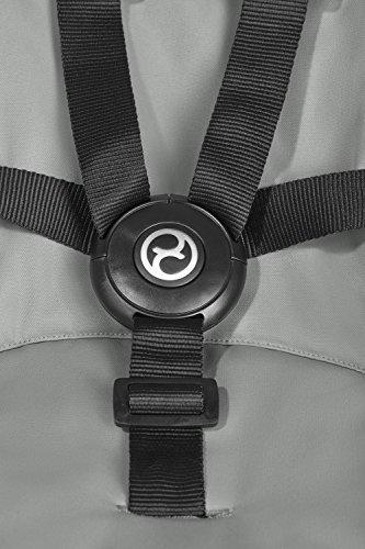 CYBEX Gold Lemo Bouncer, Babywippe, Kompatibel mit CYBEX Lemo Sitzsystem, Ab Geburt bis 3 Jahre (ca. 15 kg), storm grey