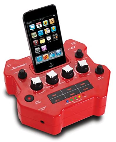 Jammin i-GX Gitarren Effekt Prozessor mit Apple iPod