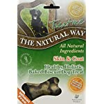 Natural Way Skin & Coat Dog Biscuits, Small Bone Natural Treats 300 g (Pack of 5) 8
