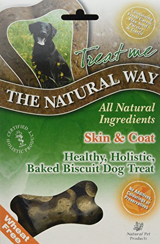 Natural Way Skin & Coat Dog Biscuits, Small Bone Natural Treats 300 g (Pack of 5) 1