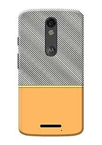 Moto X Force Cover KanvasCases Premium Designer 3D Printed Lightweight Hard Back Case